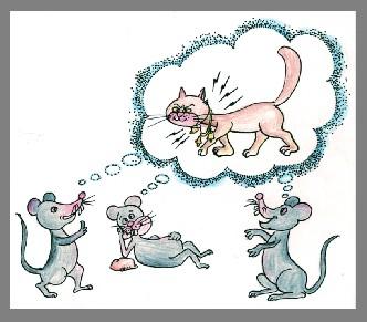 猫和铃铛课件素材