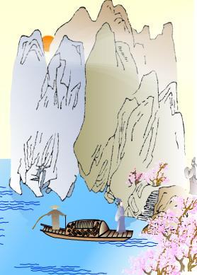 古诗小池简笔画 关于清明节古诗配画