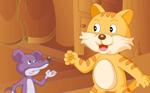 猫和老鼠简笔画大全_猫和老鼠简笔画图片