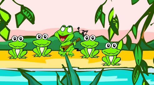 小青蛙找妈妈简笔图片_【小蝌蚪找妈妈hdipad软件下载】点评